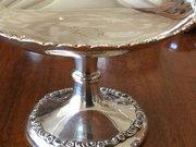 Silver Pedestal dish Birmingham c1905