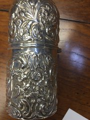 Silver Perfume Bottle Holder William Comyns