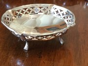 Solid Silver Pierced Bowl c1924 by Henry Davies