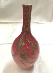 "Splendid ""Peachblow"" Vase By Thomas Webb & Sons"