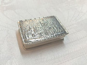 Sterling Silver Snuff Box