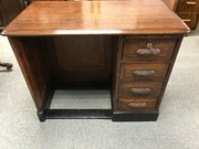 Stunning 1930's oak child's desk