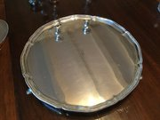 Superb Silver Tray by Goldsmiths c1927 12""