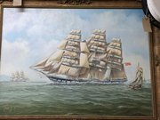 Various Maritime  Watercolours & Oil Paintings