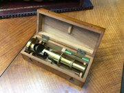 Victorian Cased Barrel Microscope c1885