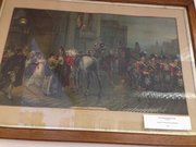 Victorian Print 'Summoned to Waterloo'