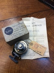 Vintage Boxed Sestrel Car Compass