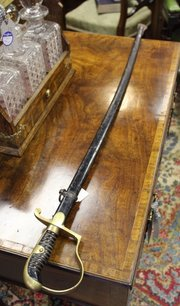 WW1 German Military Officer's Dress Sword