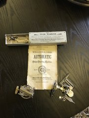 Willcox & Gibbs automatic silent sewing machine directions