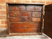 17th Century Oak Spice Cupboard