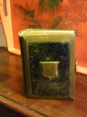 1800's Leather Bound Photo Album