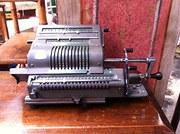 1940 Adding Machine by Brunsviga