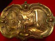 19th Century French Vide Poche Bronze