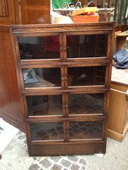 Edwardian Bookcase  in Oak