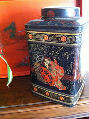 Antique Tea Canister