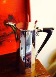 Art Deco Cafetiere Silver Plate