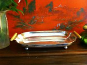 Art Deco Silver Plated Dish