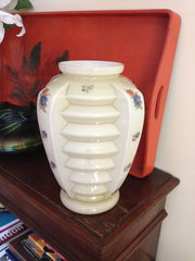 Art Deco Vase in Opaline