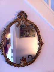 1850  Ormolu Oval Mirror