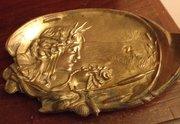 Art Nouveau Vide Poche Bronze