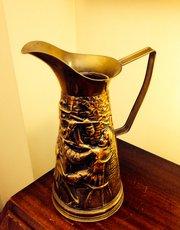 Arts & Crafts Jug in Brass