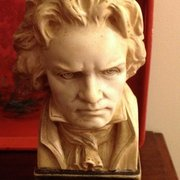 Beethoven Frowning Bust