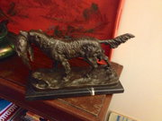 French Bronze Sculpture. Signed
