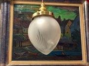 Classic Edwardian Cut Glass Lantern