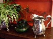 Classic Water Pitcher Silver Plated