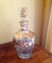 Cognac Decanter Crystal French