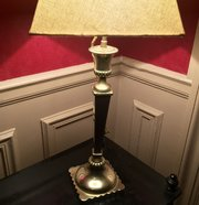 Fine Quality French Table Lamp Bronze