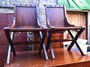 Fine Quality Arts & Crafts Chairs in Oak