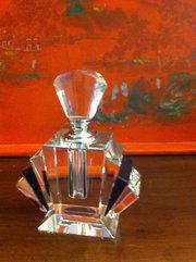 French Art Deco Crystal Flacon