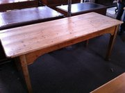 Antique French Farmhouse Table  in Pine