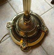 Impressive Edwardian Standard Telescopic Lamp