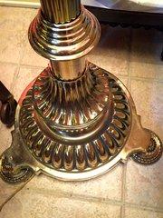 Impressive Victorian Standard Telescopic Lamp