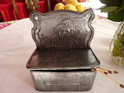 Mid 1800's  Matchbox Set