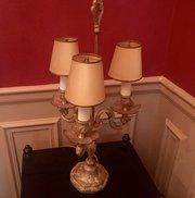 Napoleon III Style Candelabra Gilt Bronze