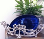 Napoleon III Fruit Dish or Jardiniere Silvered Bro