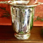 Original Art Deco Champagne  Cooler Christophle