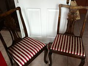 Pair Chippendale Chairs
