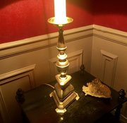 Solid Traditional Table Lamp Bronze French