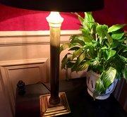 Traditional French Art Nouveau Desk Lamp  Brass