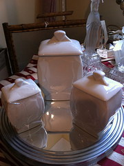 Trio Art Deco Jars