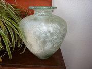 Vintage Large Green Vase