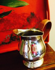 Vintage Water Pitcher Silver Plated