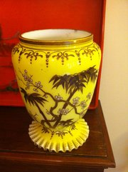Wonderful Victorian Jardiniere Opaline