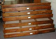 Antique Plan Chests