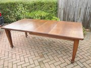 Antique Arts & Crafts Oak Dining Table