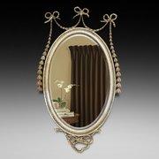 19thC Adam Style Wall Mirror